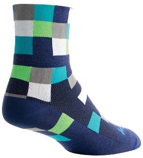 Sockguy Squares Cycling Socks
