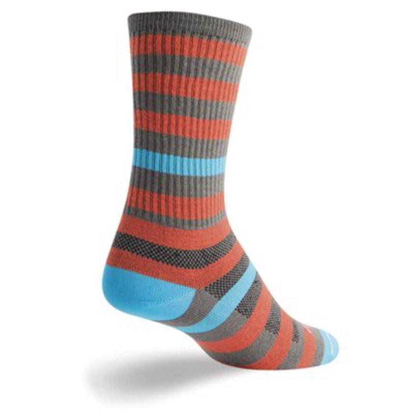SockGuy Sriracha Wool Crew Sock One Color
