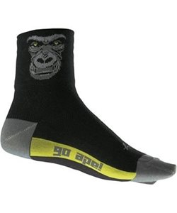 Sock Guy | Silverback Cycling Socks Men's | Size Large/Extra Large in Black