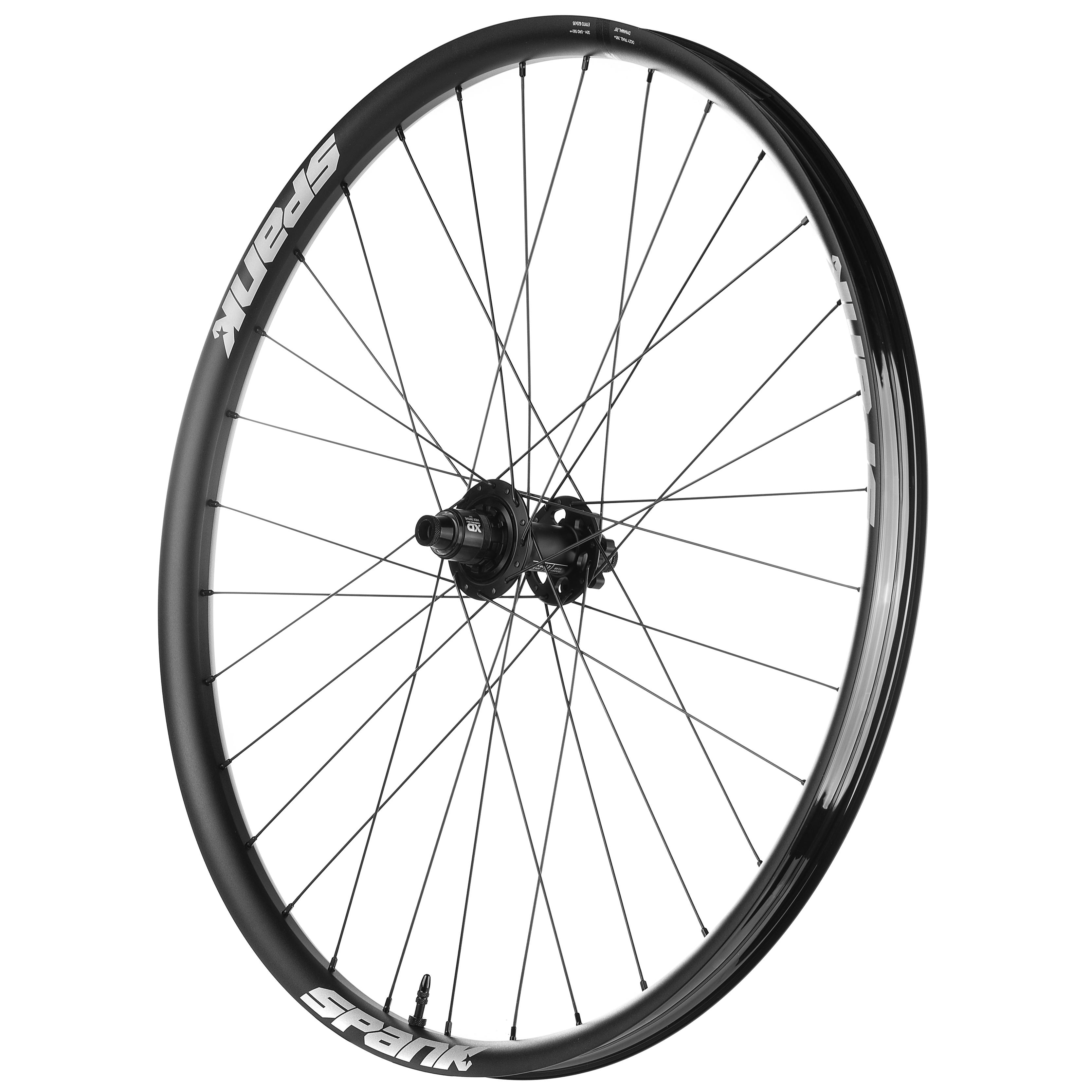 SPANO OOZY TRAIL 395+--29 X 35MM--32H BLACK BICYCLE RIM