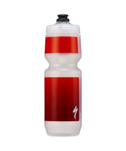 Specialized Purist MoFlo 26oz Water Bottle Translucent/Red Gravity