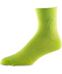 Specialized | Soft Air Mid Sock Men's | Size Large in Hyper Green