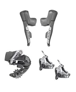 SRAM Red eTap AXS 1X Hydro Brake Groupset 1X, Hydraulic Brakes, (Crank, chain & cassette not included)