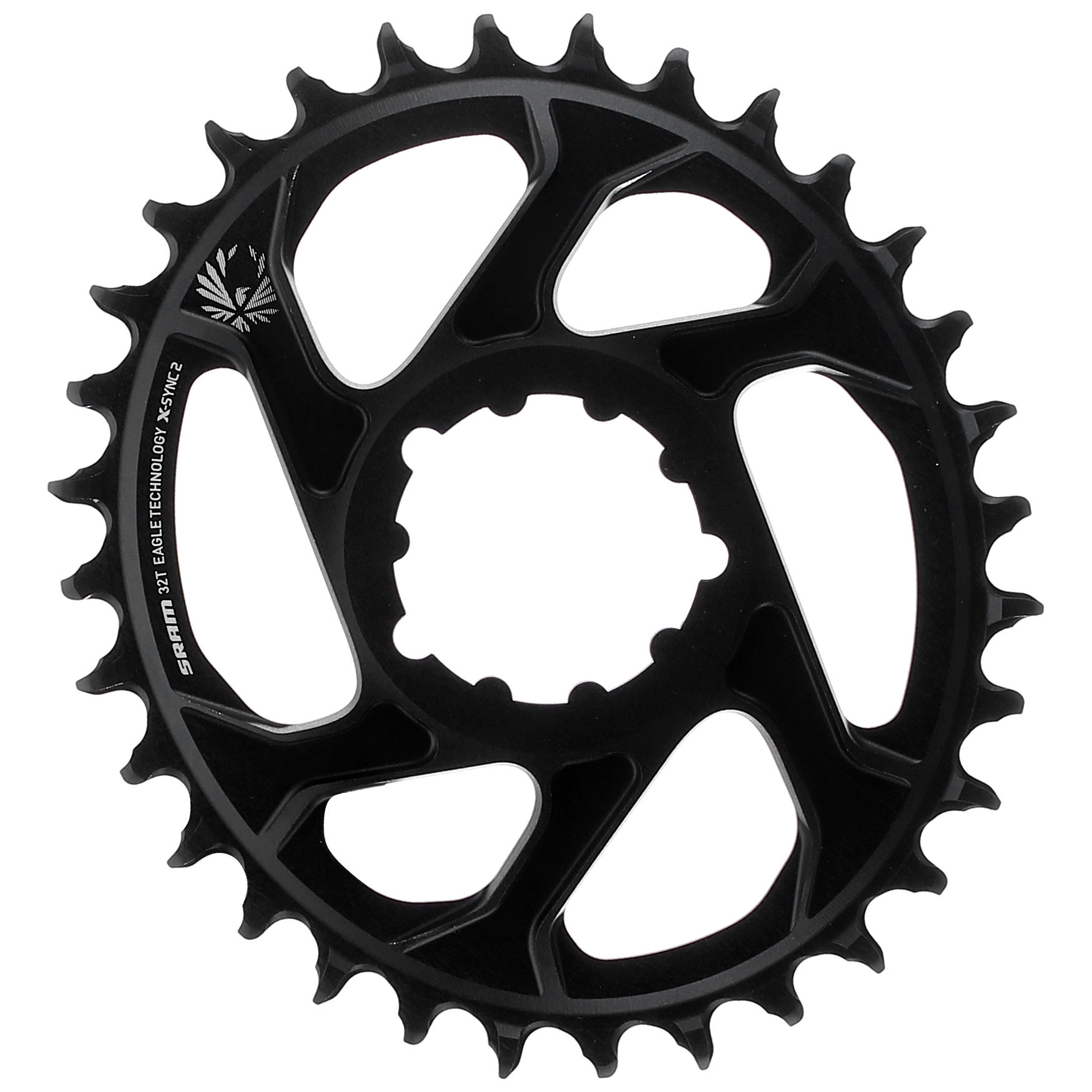 SRAM Direct Mount Round Chainring Steel 32t Eagle 12sp X-Sync2