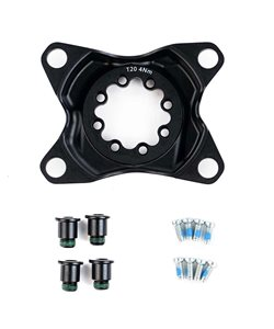 SRAM | Force Wide 94BCD Crank Spider Wide, 94 BCD, 8-BOLT ARMS ONLY, D1 | Aluminum