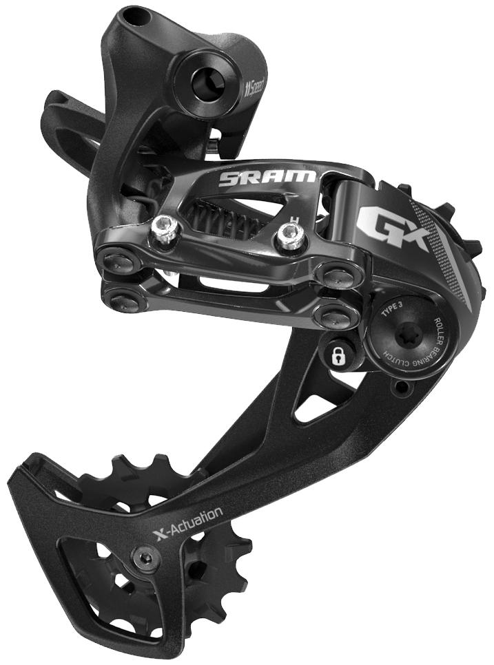 SRAM | GX 2X11 Speed Rear Derailleur | Black | Long Cage, X-Actuation
