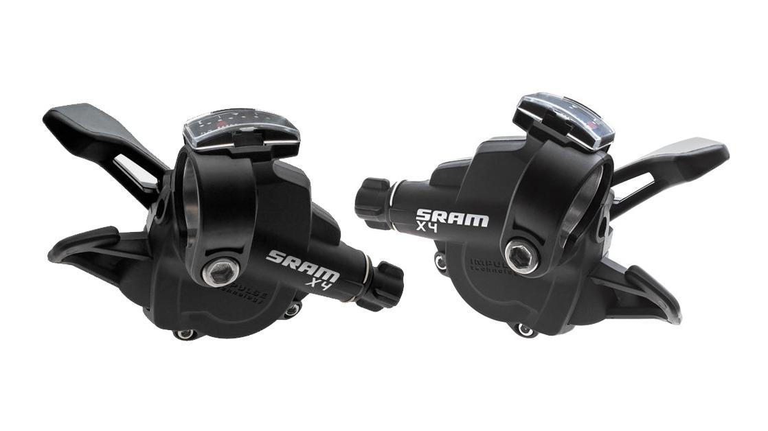 Sram MTB X4 Shifter Trigger 8 Speed Rear 1:1 Actuation