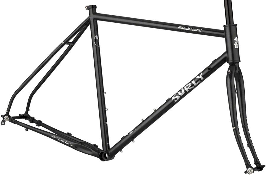 steel gravel bicycle frame