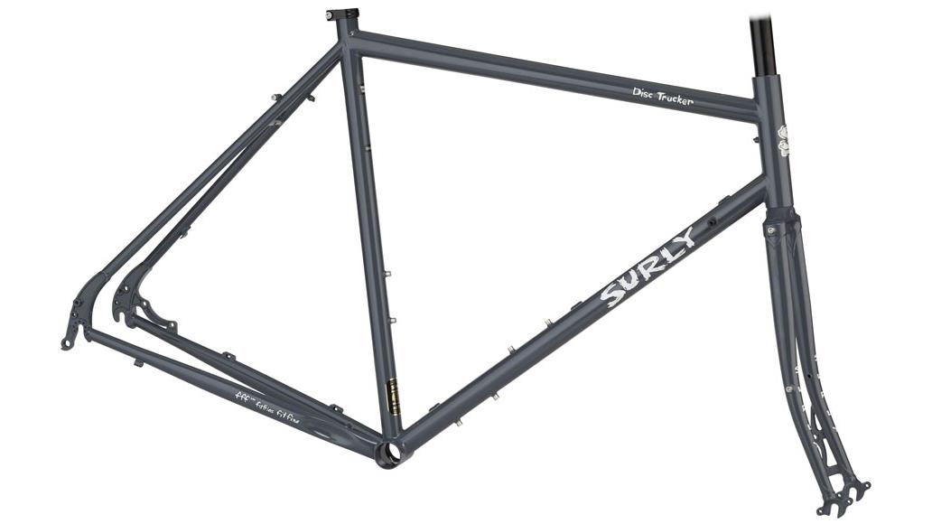 steel road bike frame