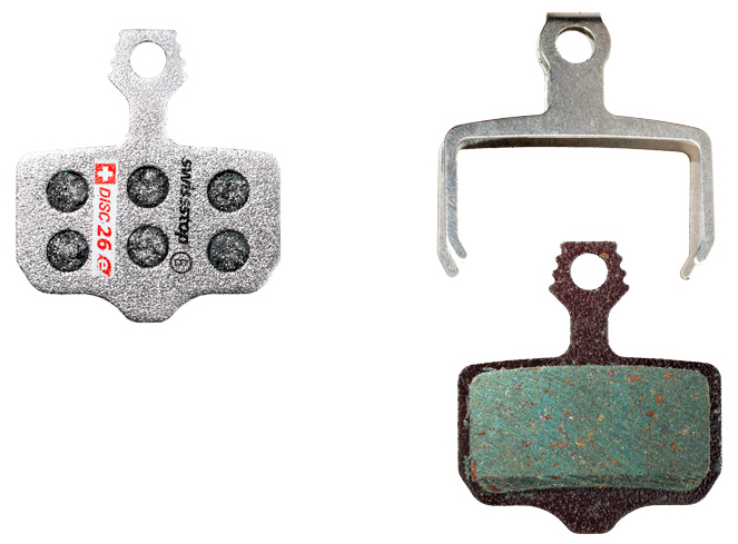 SwissStop Disc 32 E Compound Disc Brake Pad Set for SRAM Road and Level Ulti...