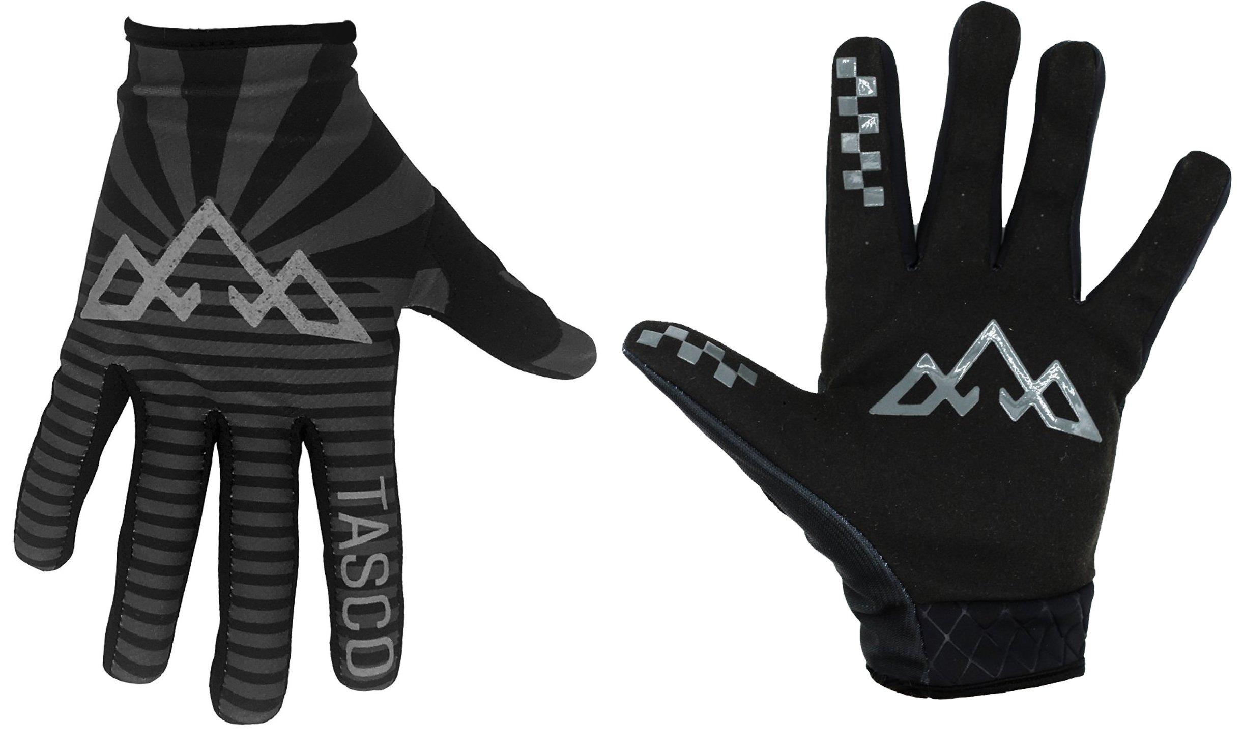 Tasco Black Rising Sun Flag Double Digits MTB Gloves 2019