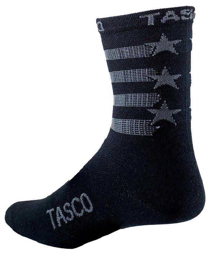 Tasco Black Flag Double Digits MTB Socks Men's Size Large/Extra Large