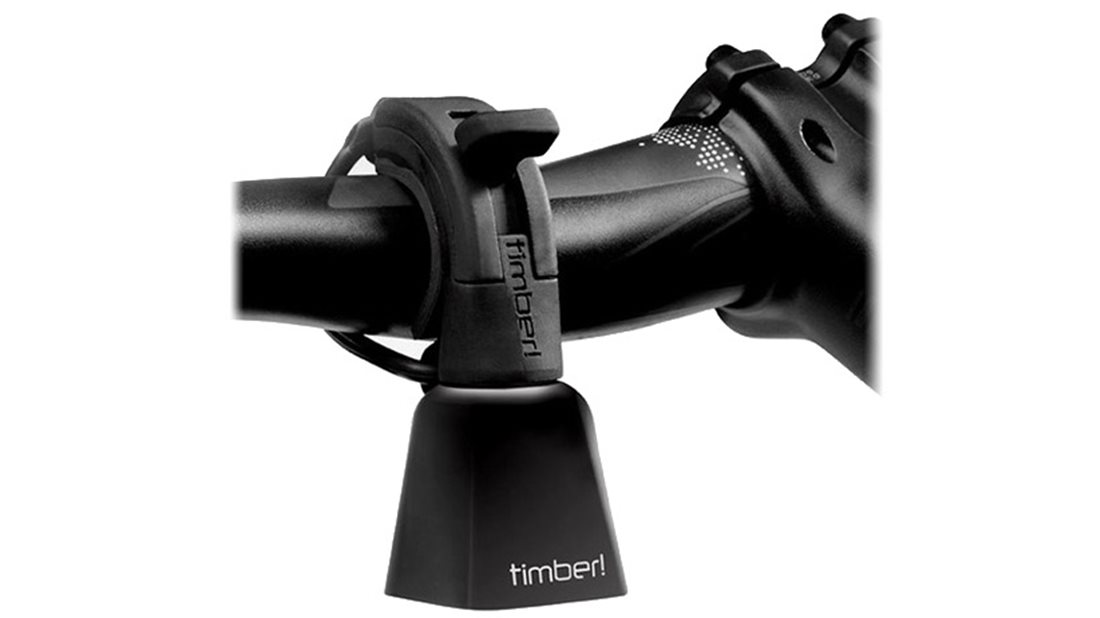 Timber Quick Release Mountain Bike Bell O-Ring Black