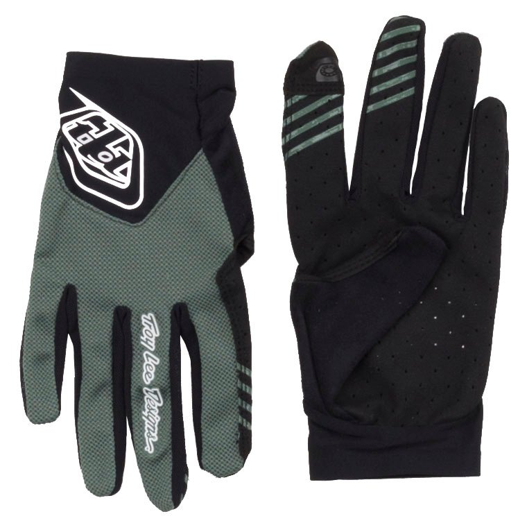 MTB Bicycle Troy Lee Designs Mens Ace 2.0 Gloves Solid Olive