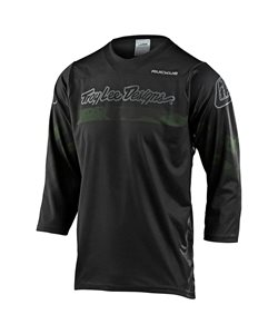 Troy Lee Designs Ruckus 3/4 Jersey Factory Men's Size Small in Camo Green/Black