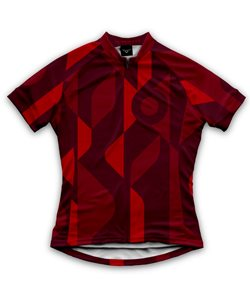 Twin Six   The Mid-Coast Women's Jersey   Size Small in Red