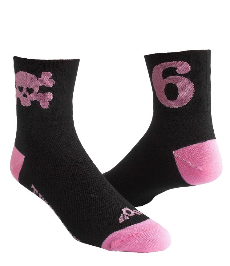 Twin Six | Pink | Skull Socks 2020 Men's | Size Small/Medium
