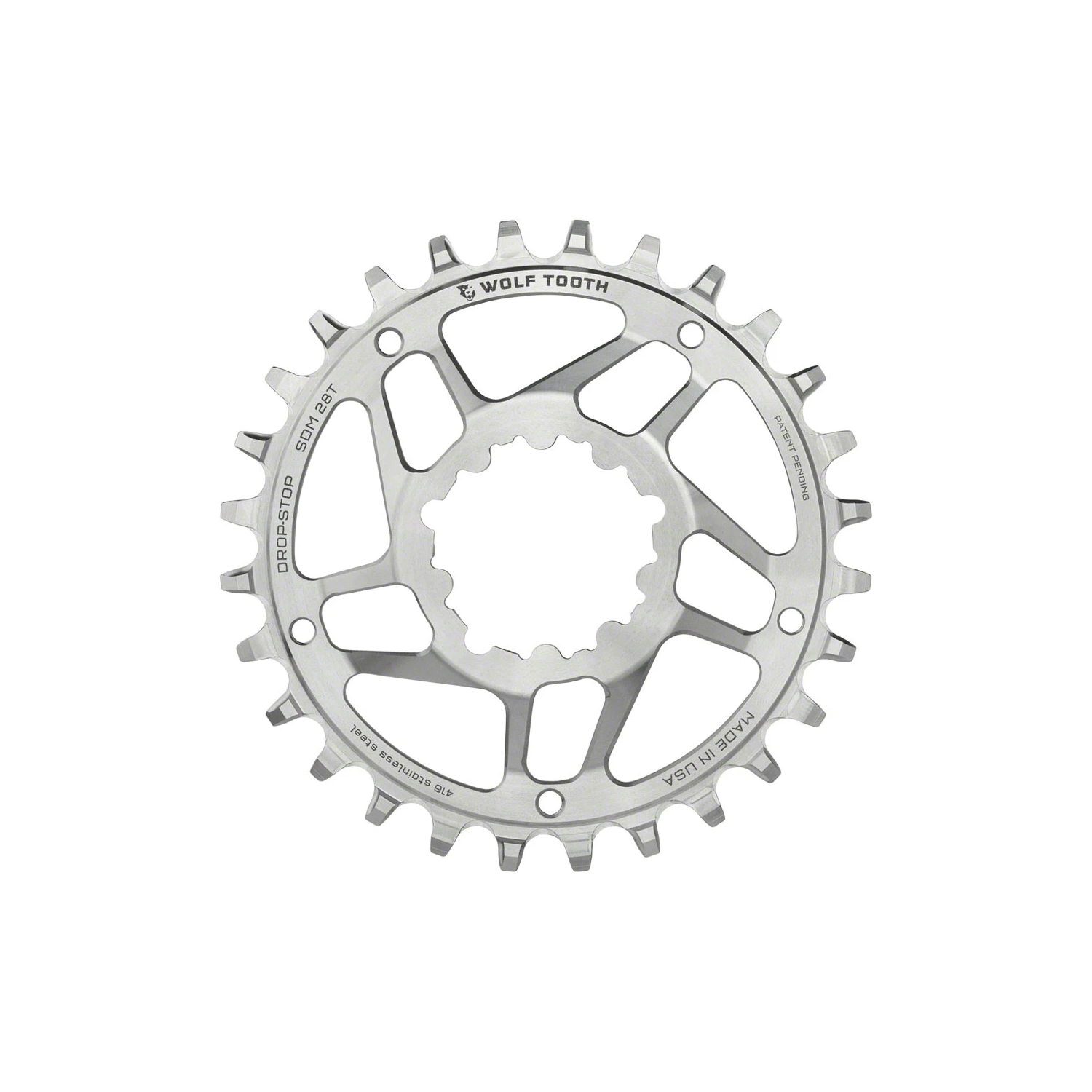 Wolf Tooth Direct Mount Chainrings for SRAM Cranks