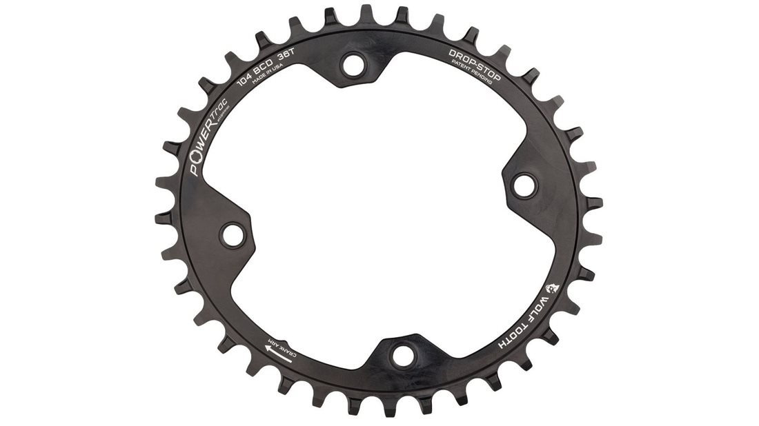 Wolf Tooth Powertrac Chainring 104 Bcd Jenson Usa