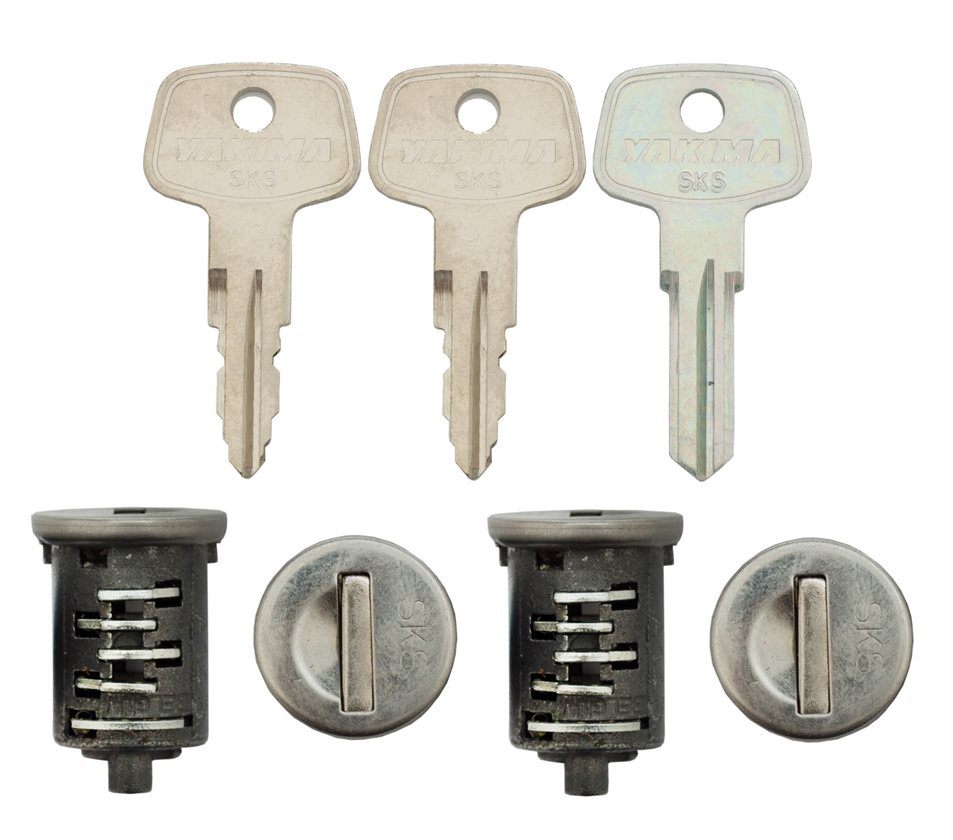 Rockymounts Lock Core Car Roof Racks-1 Pack Lock Cores-New