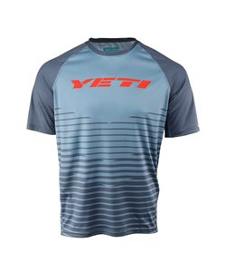 Yeti Cycles | Longhorn Tribe Jersey Men's | Size Extra Large in Slate