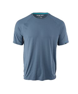 Yeti Cycles | Turq Air Short Sleeve Jersey Men's | Size Small in Slate