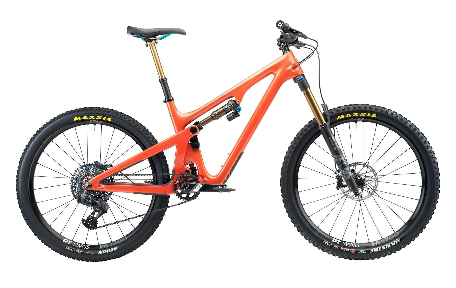 professional full suspension trail bike