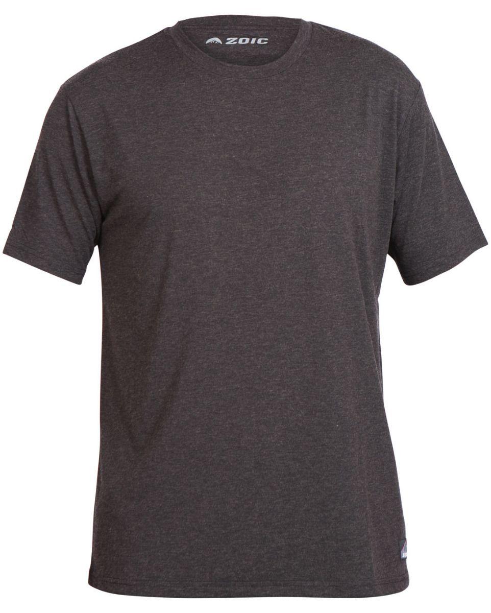 Zoic | Strata Tee Men's | Size Small in Dark Grey Wool